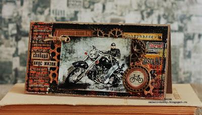 открытка на 23 февраля, открытка скрапбукинг