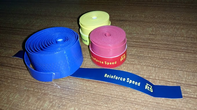 QUICK REVIEW : REINFORCE SPEED BADMINTON RACKET GRIP TAPE