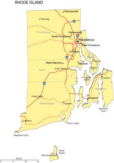 Rhode Island Area Code