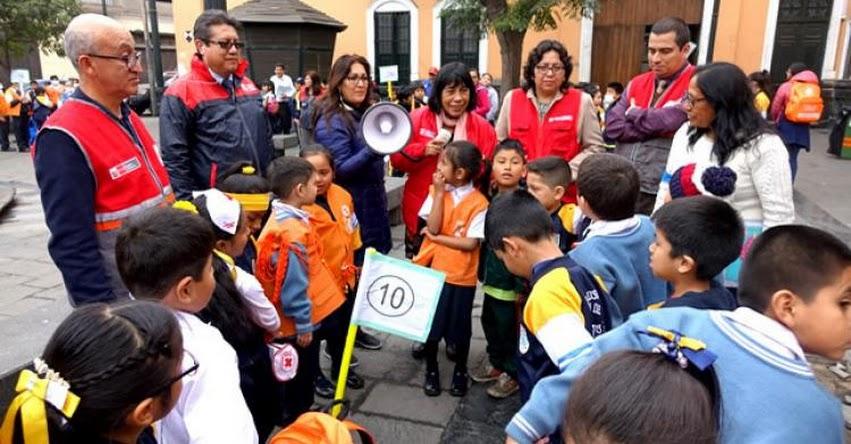 MINEDU: Escolares y docentes mostraron que están preparados para afrontar sismos y tsunamis - www.minedu.gob.pe