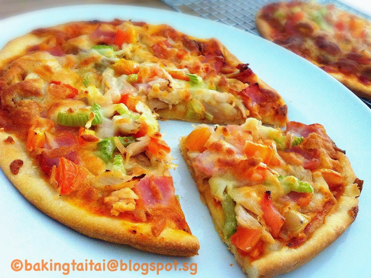 2 Ingredients Pizza Dough