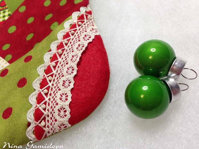 пяточка рождественского сапожка