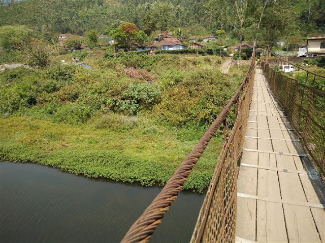 munnar rope bridge