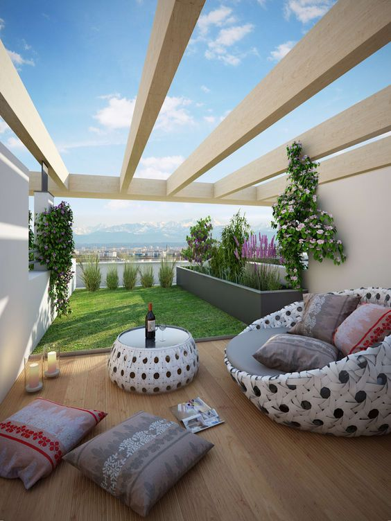 Dwell Of Decor 20 Wonderful House With Roof Terrace Looks