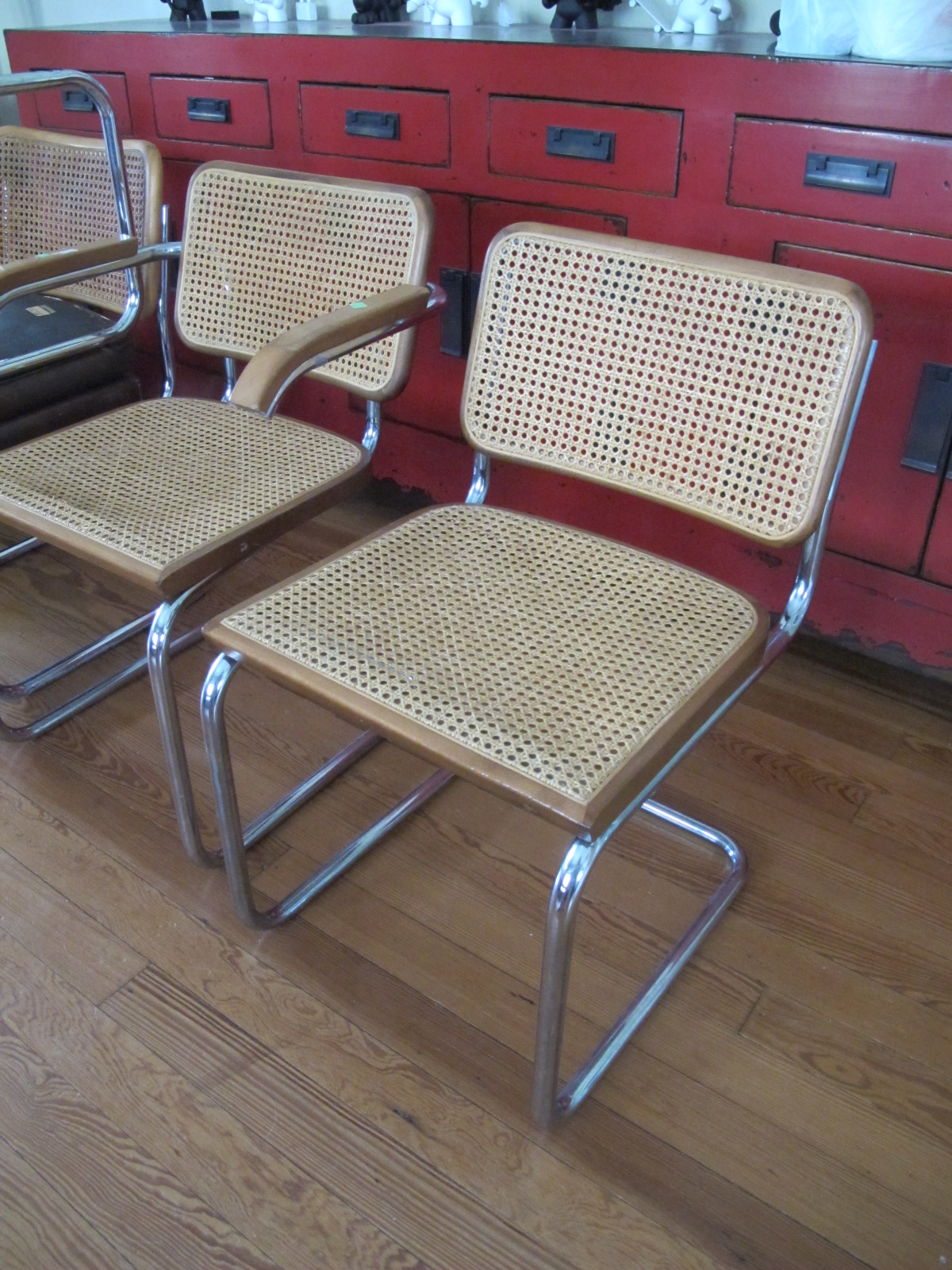 Christie Chase 546 Marcel Breuer Dining Chairs