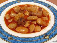 Judión del Barco de Ávila con chorizo, panceta y pimentón de la Vera