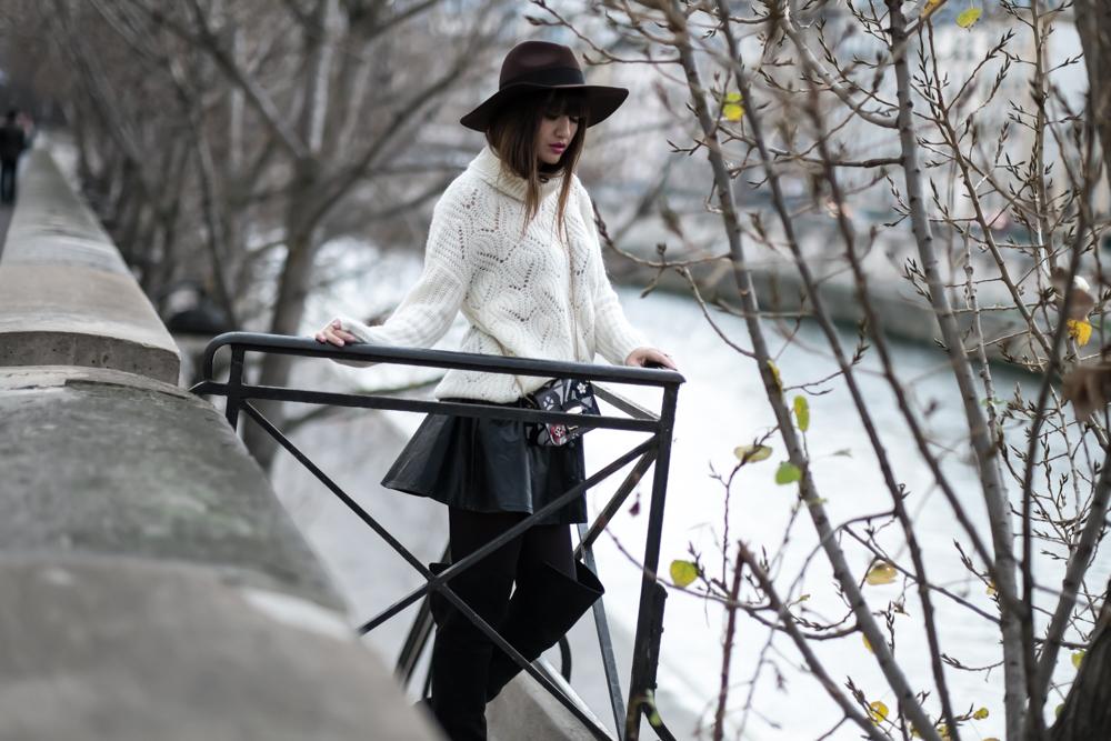 与我见面,时尚的巴黎风格,博客,时尚,时尚,冬日装