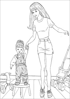 Barbie Coloring Pages To Print