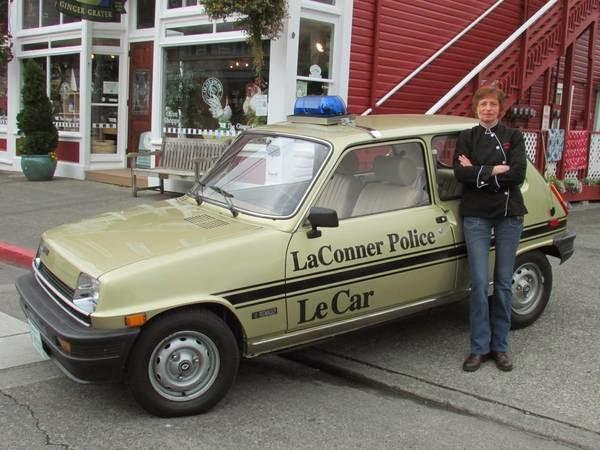 just a car geek le police car laconner wa renault lecar police