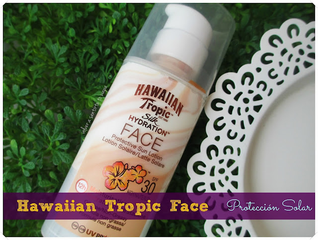 Hawaiian Tropic Silk Hydration Face SPF 30 {review}
