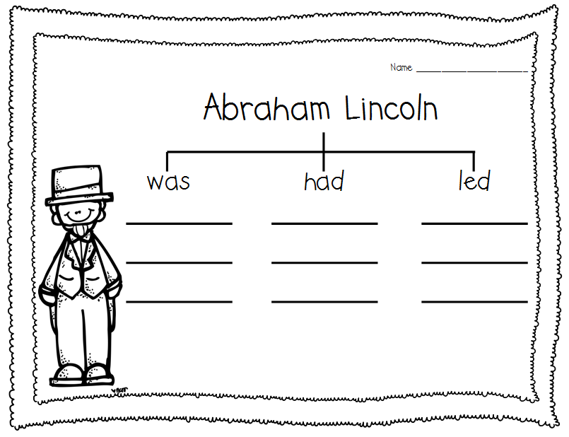 Nurturing Noggins Abraham Lincoln And Spelling Practice