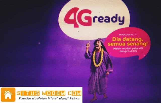 Inilah Kelebihan Internetan Menggunakan AXIS 4G LTE, Salah Satunya Promo Internet Murah !!!