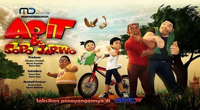 Adit & Sopo Jarwo, Film Seri Animasi Indonesia