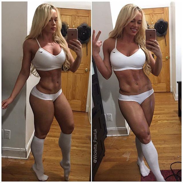 Fitness Model Wioletta Pawluk Instagram
