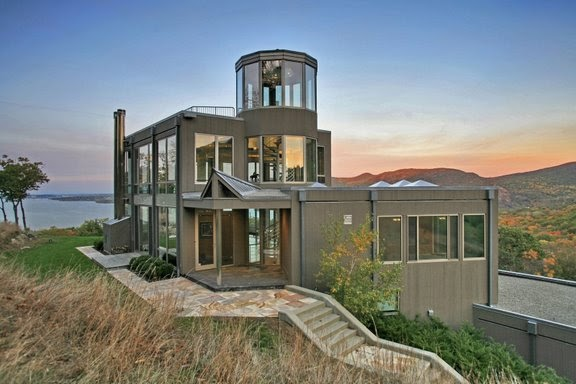 Beautiful Mansion Designs New Home Designs Latest Modern: Contemporary Glass House Near West Point, New York