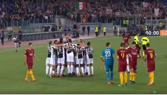Roma Juventus 0-0 highlights