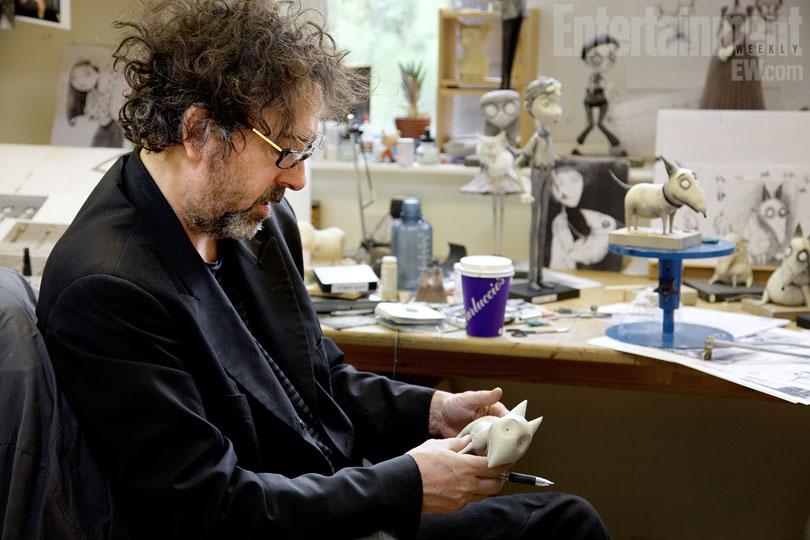 Animated Film Reviews Frankenweenie 2012 Tim Burton The Reanimator Strikes Again