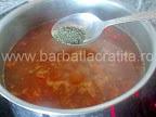 Ciorba de gaina preparare reteta - condimentam cu tarhon (optional)