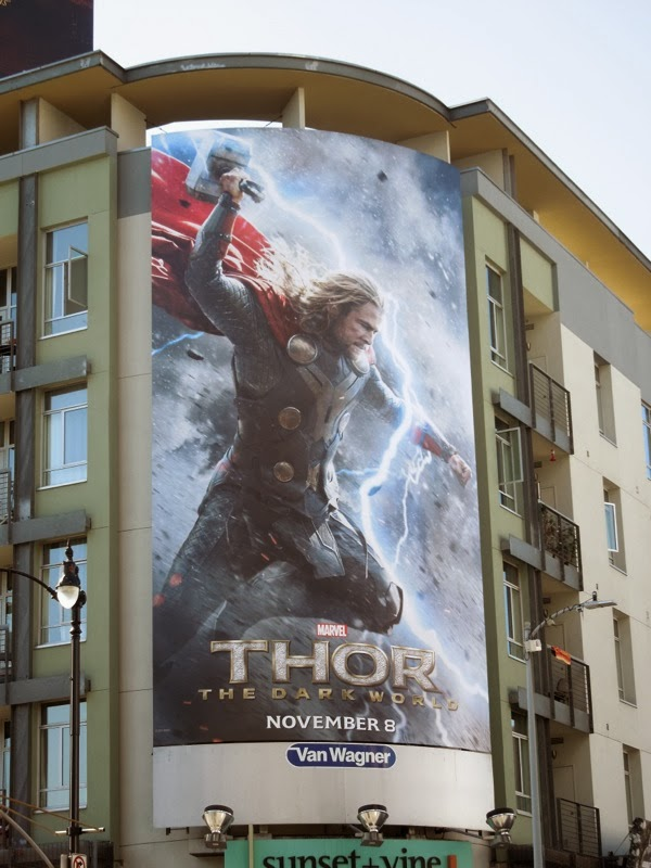 Thor 2 Dark World billboard