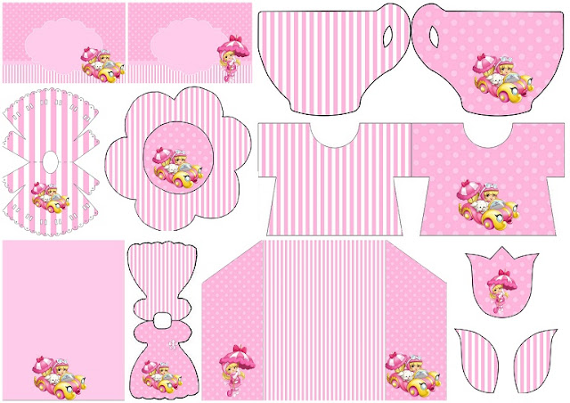 Penelope Pitstop Baby: Free Printables Invitations.