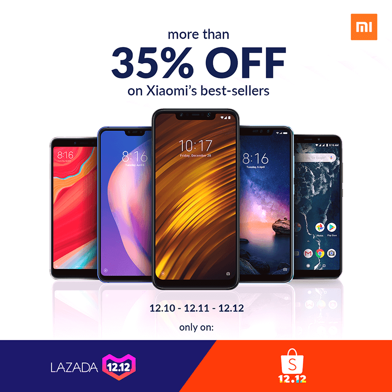 Sale Alert: Enjoy more than 35 percent off on Xiaomi smartphones at Shopee and Lazada