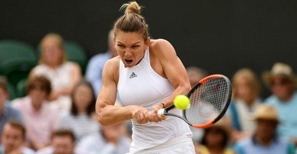 Simona Halep Downs former World No.1 Victoria Azarenka, 7-6(3), 6-2 in straight sets to reach Wimbledon Quarter Final