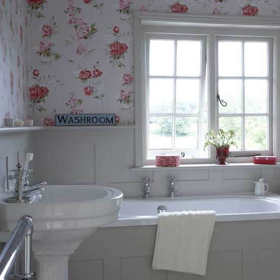 Shabby Chic Bathroom Signs Home Safe