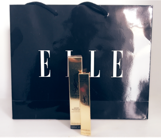 Elle Goody Bag, Golden Ticket, Make-Up, Elle Beauty School, Elle Magazine, Touche Eclat, Touch Eclat Foundation