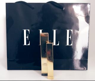 Elle Goody Bag, Golden Ticket, Make-Up, Elle Beauty School, Elle Magazine, Touche Eclat, Touch Eclat Foundation