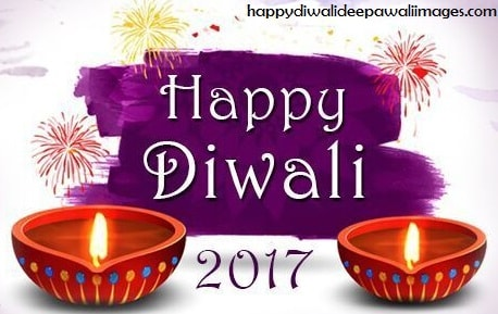 A Deepavali Image entitled 'Happy Diwali 2017'