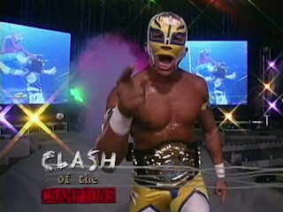 WCW Clash of the Champions 33 1996 REVIEW - Rey Mysterio defended his WCW Cruiserweight Championship against Dean Malenko