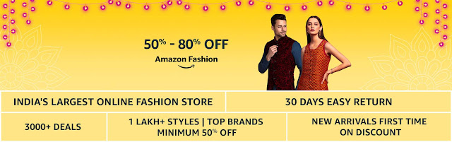 Amazon Great Indian Festival Offer 2018