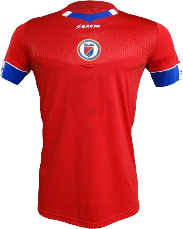 Saeta apresenta as novas camisas do Haiti - Show de Camisas 64db3a3ec1b78