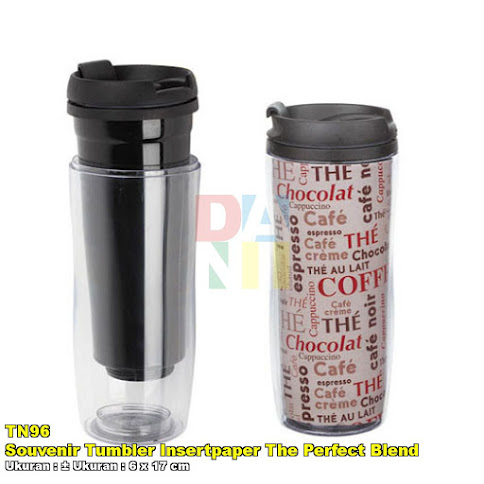 Souvenir Tumbler Insertpaper The Perfect Blend