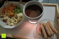 Essen: Janazala Schokoladen Fondue-Set Für 4 Personen, Auch Als Butter Und Käse Fondue Geeignet
