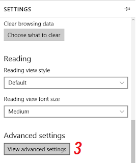 Caret Browsing in EDGE