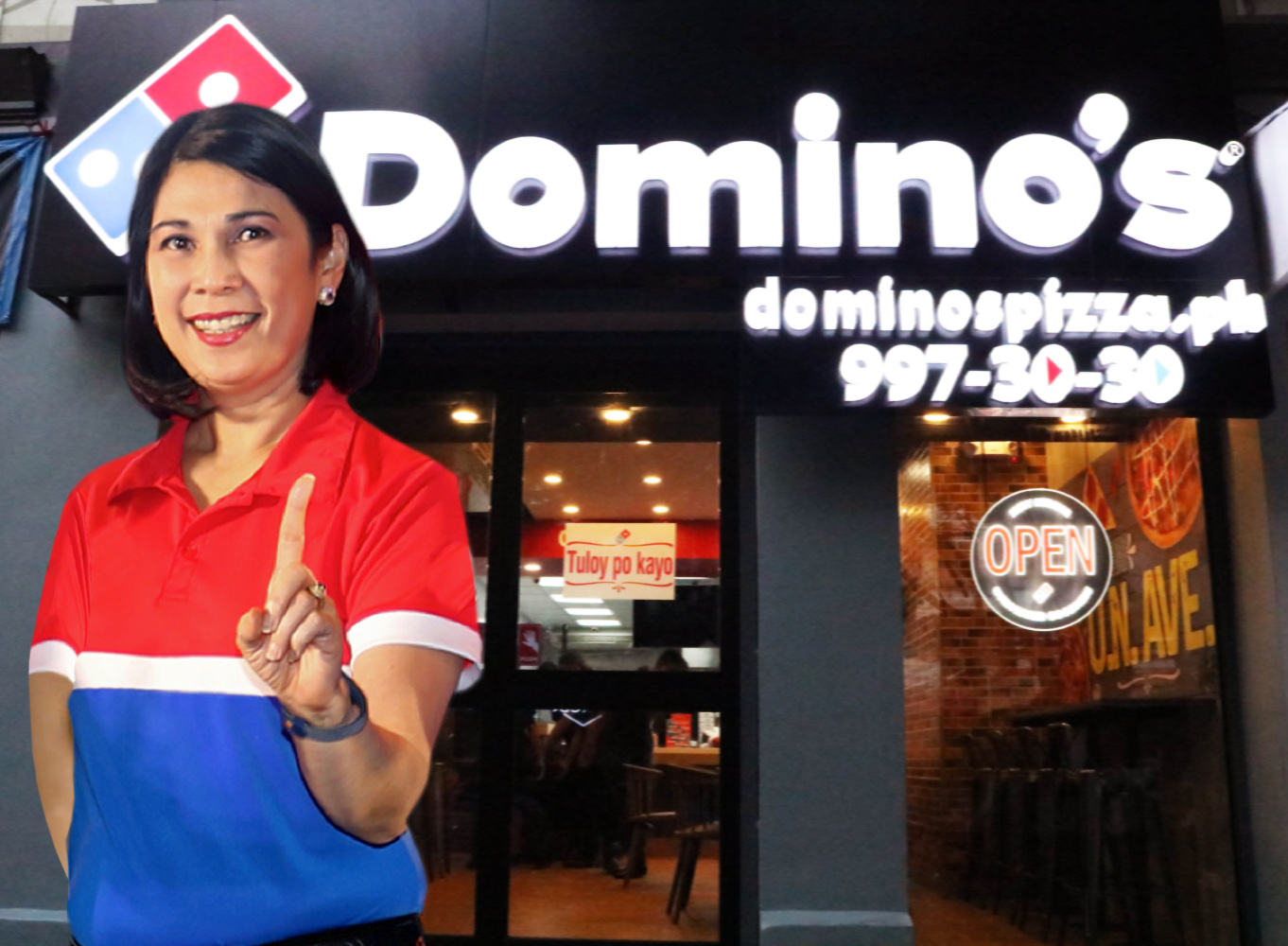 a52642a26b5 Lemon GreenTea  Domino s Pizza is now the largest pizza company in ...