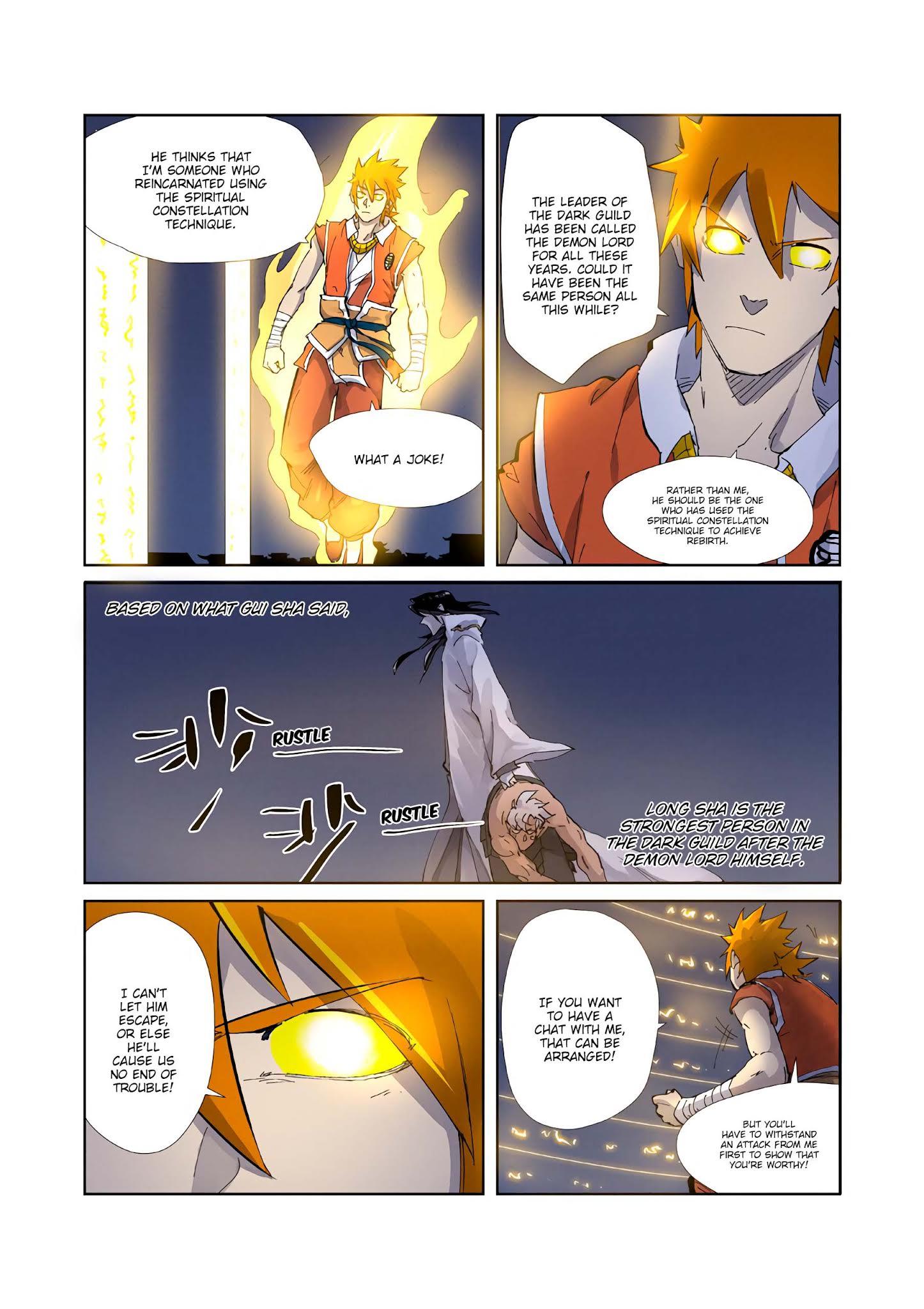 Tales of Demons and Gods chapter 212-5 english - YouBa Manga