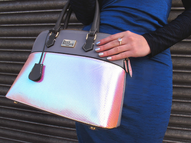 Paul's Boutique Maisy hologram handbag