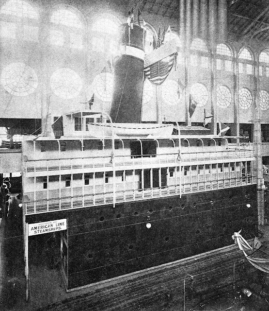 American Line 1893, indoor replica at the 1893 Chicago World's Fair
