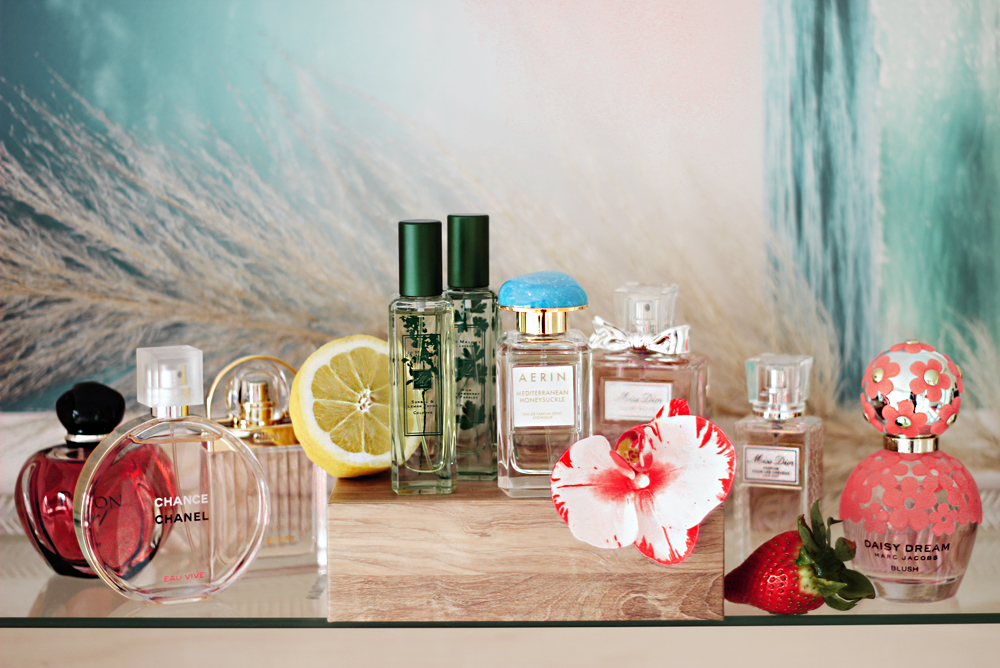New Spring Summer 2016 fragrances perfume collection aimerose blog