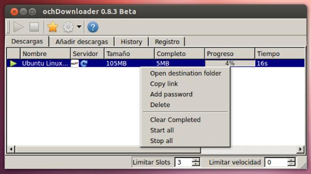 Conheça o OchDownloader, um boa alternativa ao JDownloader
