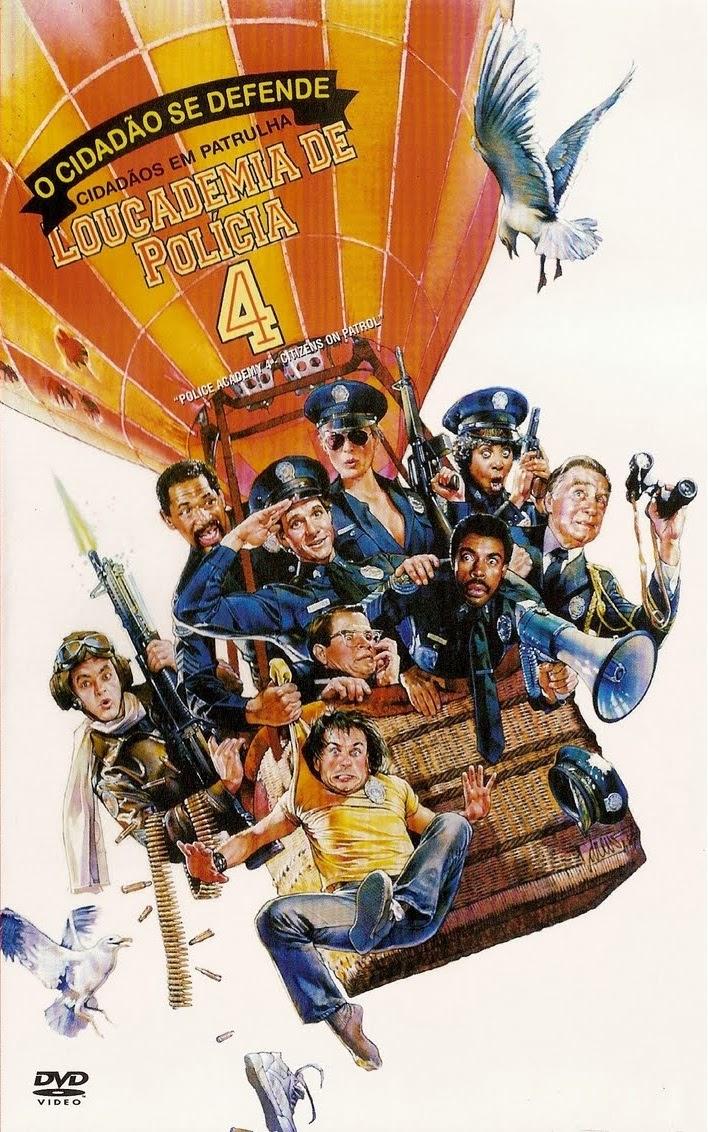 Loucademia de Polícia 4: O Cidadão Se Defende – Dublado (1987)