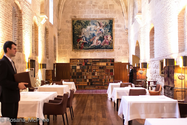 Abadia Retuerta, Michelin star Refectorio