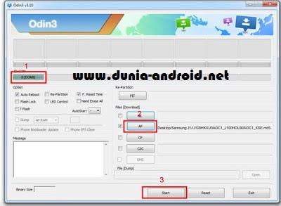 How to Flash Samsung Galaxy J1 J100H