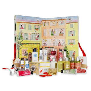 L'Occitane en Provence's Holiday 2015 Advent Calender Gift Set.jpeh