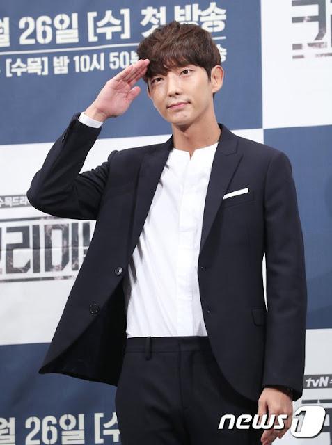 韓版《犯罪心理》戲劇發佈會 李準基時裝帥氣逼人