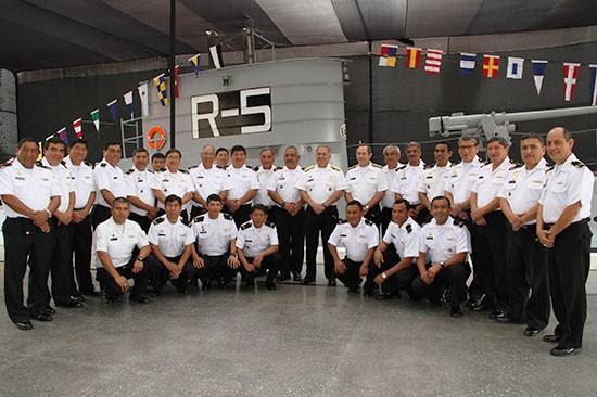 Conmemoran los 106 años de la Fuerza de Submarinos Peruana