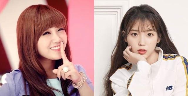 Eunji de A Pink dice que le encantaría colaborar con IU