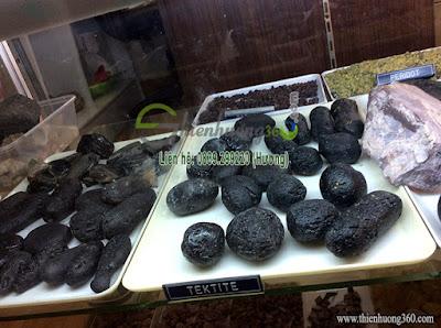 Đá phong thủy tektite thiên nhiên may mắn tài lộc
